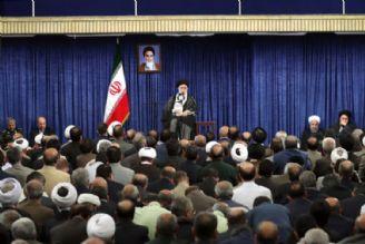 دیدار مسئولان و كارگزاران نظام با رهبر انقلاب اسلامی