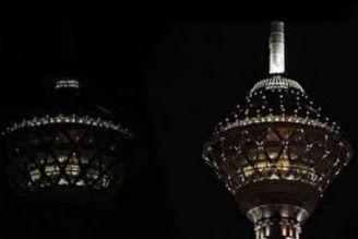 خاموشی برج میلاد در شب سالگرد رحلت امام (ره)