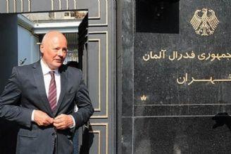 «كلور-برشتولد» به عنوان سفیر آلمان به تهران باز نمیگردد