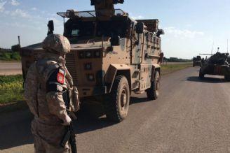 انفجار ماشین گشت روسی توسط تروریست ها در سوریه