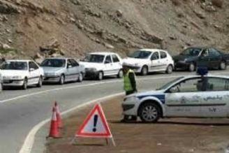 ترافیك نیمه سنگین در محدوده ورودی تهران