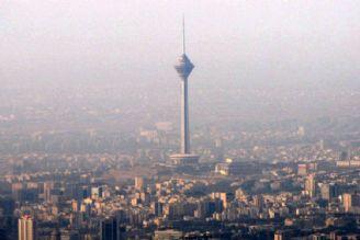 طی 24 ساعت گذشته هوای تهران در مرز آلودگی