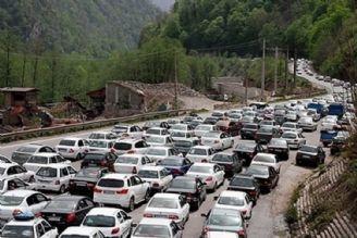 ترافیك در آزادراه قزوین-كرج و انسداد شبانه آزادراه كرج-قزوین