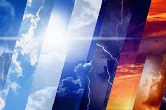 احتمال وقوع رگبار و رعد و برق در نیمه شمالی