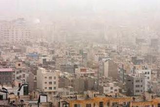 كاهش كیفیت هوای پایتخت طی امروز