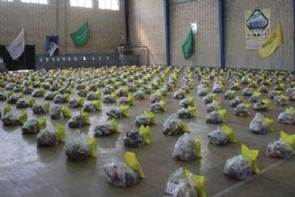 توزیع بستههای كمك مومنانه در استان خوزستان توسط فدراسیون هندبال