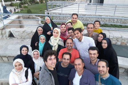 کاوشگران جوان در مشهد مقدس