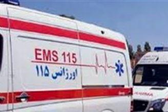 حریق در ایستگاه مترو اكباتان تهران/ آمادهباش اورژانس ١١٥ در محل حادثه