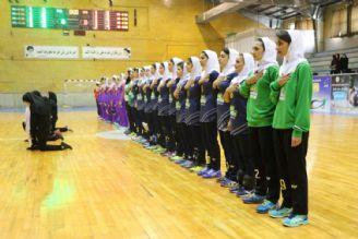 پخش زنده هندبال بانوان/شهید شاملی كازرون-تاسیسات دریایی تهران