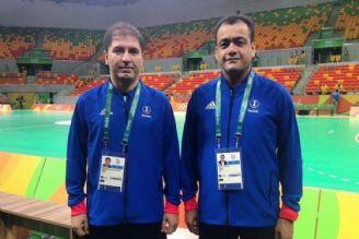 دعوت از كوبل داوری ایران در مسابقات قهرمانی جهان هندبال