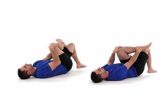 چند حركت ورزشی آسان برای درمان درد سیاتیك
