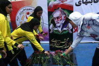 ادای احترام به مقام والای شهید فخریزاده