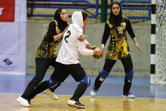 پیروزی دختران سپاهانی مقابل سنگ آهن بافق
