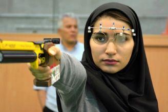 طلا و نقره تپانچه بادی تیراندازی آسیا برای ایران