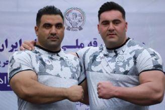 2 ایرانی در جایگاه پنجم مشترك قویترین مردان جهان