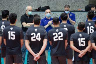 مربی جدید والیبال در جمع ملیپوشان